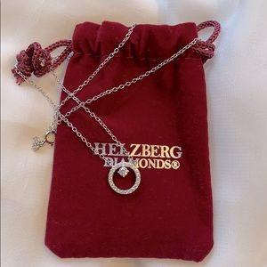 Brand new Helzberg diamonds necklace